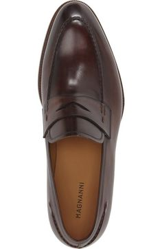 Free shipping and returns on Magnanni 'Tevio II' Penny Loafer (Men) at Nordstrom.com. Finely grained leather enriches a stylish Spanish penny loafer crafted in a clean, versatile silhouette.