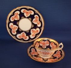 Shelley Foley Wileman Royal Shape Imari Pattern Trio in Pottery, Porcelain & Glass, Porcelain/ China, Shelley | eBay