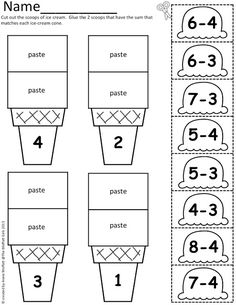 Number Bonds Worksheets. Great for teachers using