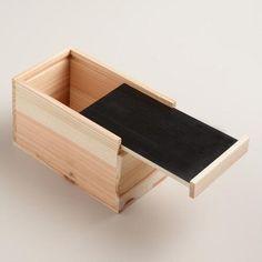 Large 18x45x34 Small 17x42x30 Chalkboard Boxes Set Of 2 Kmart