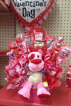 404 Best Valentine Bouquets Images In 2019 Candy Arrangements