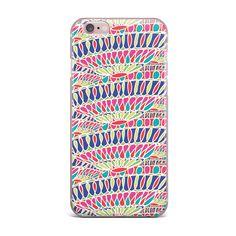 "Miranda Mol ""Abundance"" Magenta Multicolor iPhone Case from KESS InHouse"