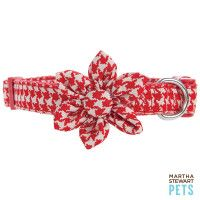 Martha Stewart Houndstooth Collar...My dog needs this for Christmas!
