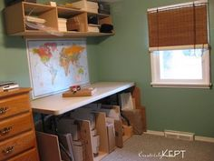 Shipping supplies – office organization at work business Small Business Organization, Office Organization At Work, Clutter Organization, Organizing, Ebay Office, Packing Station, Warehouse Design, Storage Boxes, Office Decor