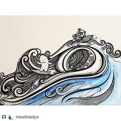 #Repost artwork karya @mestinadya  Follow tag dan mention hasil gambarmu pada kami dan dapatkan kesempatan tutor dengan artist-artist gambar Indonesia. Juga kesempatan menjadi salah satu artist di @sneakypieceproject  A Happiness Project by @sneakypiece  #draw #doodleart #doodleindonesia #doodleadict #doodle #drawing #drawingoftheday #instaartoftheday #instadraw #instaartist #instaartsy #instaarts #instaarthub #instaartistic #instaartwork #fullofdoodleart #art #artgallery #artnews #alterbook…
