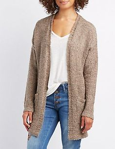 Sweaters: Poncho, Oversized & Cable Knit   Charlotte Russe
