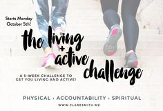 Let's be honest, the disciplines of exercise and scripture memorization are tough. That's why we're so excited to introduce you to an annual challenge that motivates, encourages and connects you with others on a journey to health. Let's get started!