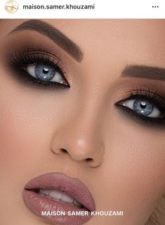 Sweat-proof your eye makeup with CRUELTY FREE Ink Eyeliner NYX offers an exceptional quality of professional eye makeup in super stylish and modern packaging. Makeup Inspo, Makeup Inspiration, Makeup Kit, Bridal Makeup, Wedding Makeup, Crazy Eyebrows, Smokey Eyeliner, Braut Make-up, Professional Makeup Artist
