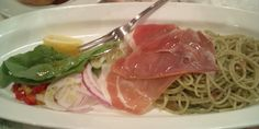 Excellent pasta & uncured ham!♪♪