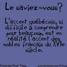 Faits intéressants trouvés sur le site Facebook Français pour tous https://www.facebook.com/FPTous
