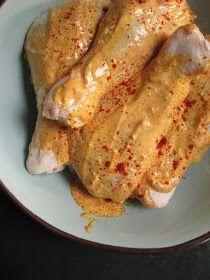 zufikowo: Marynata jogurtowo-paprykowa do kurczaka Sausage, French Toast, Grilling, Bbq, Pork, Food And Drink, Cooking Recipes, Keto, Lunch