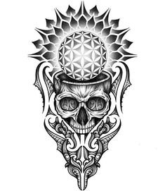 To understand culture is to understand the selfTo understand the self is to transcend culture Geometric Mandala Tattoo, Sacred Geometry Tattoo, Geometric Tattoo Design, Mandala Tattoo Design, Skull Tattoo Design, Tattoo Sleeve Designs, Skull Tattoos, Body Art Tattoos, Sleeve Tattoos