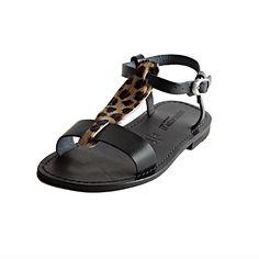 Sandalo star nero da donna