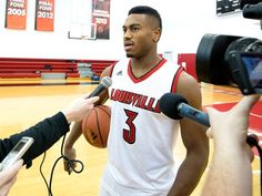 Trey Lewis University of Louisville Men's Basketball Media Day at the Yum! Practice Facility
