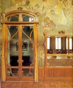 Stunning art nouveau interiors