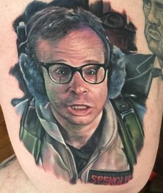Who You Gonna Call? Check out these 55 Ghostbuster Tattoos in honour of the classic film from the The Real Ghostbusters, Fan Tattoo, Tattoo Skin, Marshmallow Man Ghostbusters, Ernie Hudson, 1980s Films, Michelin Man