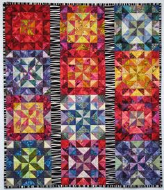 quilt from Exuberant Color