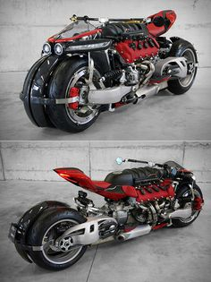 Lazareth Quad Motorcycle, Powered by a Maserati Hits the Streets Futuristic Motorcycle, Futuristic Cars, Motorcycle Bike, Custom Street Bikes, Custom Sport Bikes, Concept Motorcycles, Cool Motorcycles, Image Moto, Motorbike Design