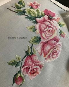 New Finished Completed Cross Stitch - Multi-color peony - Cross Stitch Borders, Cross Stitch Rose, Modern Cross Stitch Patterns, Cross Stitch Flowers, Cross Stitch Designs, Counted Cross Stitch Patterns, Cross Stitch Embroidery, Hand Embroidery, Floral Embroidery Patterns