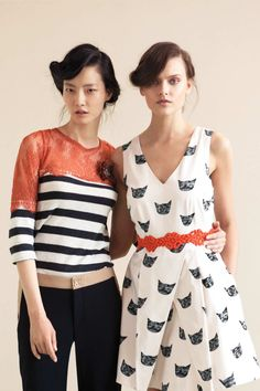 Annie Pancake: Y'know, It's Okay..    anthropologie cat print dress, need i say more?