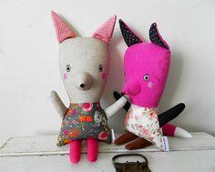 fox / Břichopas toys