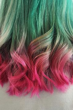 Watermelon Hair Is Officially Breaking the Internet