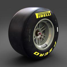 Formula 1 tyre