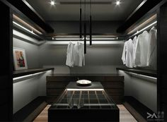 Ready to fill - walk in closets