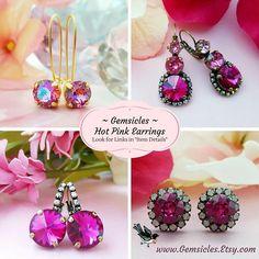 Iridescent Earrings Purple Teardrop Earrings Crystal