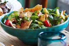 Fattoush. Mezze is more than just food, it's a way of life. Learn secrets to the art of grazing with this tasty recipe.