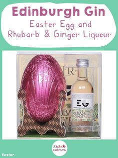 Easter Egg and Rhubarb & Ginger Edinburgh GinWhat could possibly go better with chocolate than a fruity, spicy liqueur? Easter Food, Easter Treats, Easter Recipes, Easter Eggs, Ginger Liqueur, Gin Distillery, Easter Celebration, Egg Hunt, Edinburgh