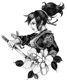 Geisha tattoo: Beautiful inspirations for your tattoo - Although the geisha tattoo is easy to recognize, not everyone knows the meanings behind it. Geisha Tattoos, Geisha Tattoo Design, Irezumi Tattoos, Die Geisha, Geisha Art, Japanese Geisha Tattoo, Japanese Tattoo Designs, Tattoo Sketches, Tattoo Drawings