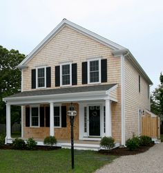 Classic Greek Revival, new home, Dennis, MA by REEF, Cape Cod's Home Builder