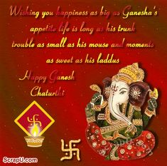 Discover & share this Ganesh Chaturthi GIF with everyone you know. GIPHY is how you search, share, discover, and create GIFs. Ganesh Chaturthi Photos, Happy Ganesh Chaturthi Wishes, Happy Ganesh Chaturthi Images, Gif Greetings, Navratri Wishes, Ganesha Pictures, Alphabet Images, Festival Image, Wishes Images