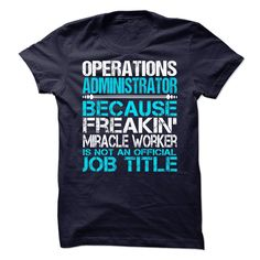 Operations administrator - Tshirt