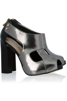 Pewter Formal Shoes $161