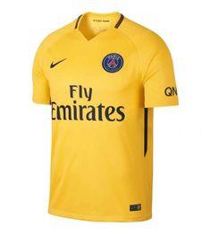 Nike Paris Saint-Germain Stadium Away Men's Soccer Jersey Size Medium (Yellow) Soccer Kits, Football Kits, Nike Football, Football Jerseys, Psg, Neymar, Maillot Paris Saint Germain, Jersey Shirt, Tee Shirts