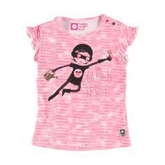 T-Shirt Diva Pink | Tumble n Dry | Daan en Lotje https://daanenlotje.com/baby/meisjes/tumble-and-dry-t-shirt-diva-pink-001153