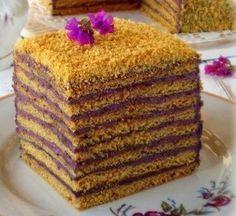 Торт медовый «Кадриль» с очень необычным кремом