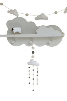 White dreamy clouds for your neutral nursery decor. … White dreamy clouds for your neutral nursery decor. Cloud Nursery Decor, Nursery Bunting, Clouds Nursery, Rainbow Nursery, Star Nursery, Nursery Themes, Nursery Ideas, Nursery Mobiles, Nursery Décor