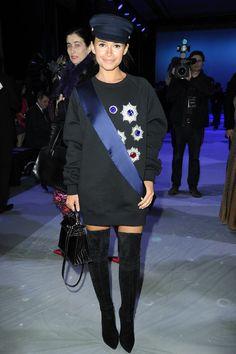 Mira at Jean Paul Gaultier Show, Paris' 2014