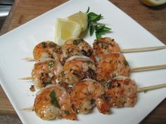 dukan diet recipe Basil and Garlic Shrimp
