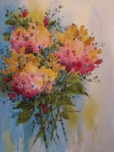 In Beautiful Watercolor Landscapes, Joyce Hicks includes demonstrations and tips. Learn more here. ~ch