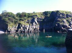 Kayaking around the glorious coast of the Pembrokeshire Coast National Park