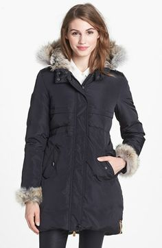 Hot Sell Women S Just Cavalli Real Fur Goose Down Jacket
