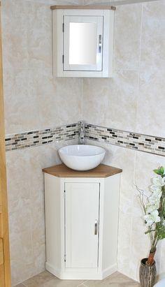 Fantastic Corner Bathroom Sink Vanity Units with Delta