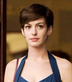 New hair cut. Hopefully with this I will absorb Anne Hathaway's powers