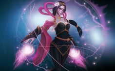 Templar Assassin - Garment of Blessed Harmony Wallpaper, more: http://dota2walls.com/templar-assassin/templar-assassin-garment-of-blessed-harmony-wallpaper