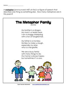 Metaphor Assessment | BetterLesson