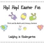 Easter Print and Go centers is aligned with Common Core for Math and Literacy.  I love getting easy to prepare centers the are both fun and engaging...